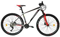 """Горный велосипед Crosser MT-042 27.5"""", рама 17, красный"""