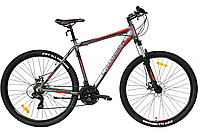 """Горный велосипед Crosser Grim 29""""/19, черно-красный"""