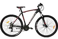 """Горный велосипед Crosser Rally 29"""", рама 18, черный"""