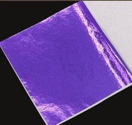 Поталь Фиолетовая 9*9 см от 25 листов