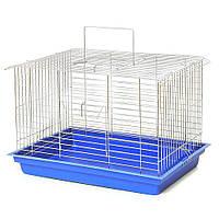 """Клітка для гризунів """"Кролик максі"""" 565×400×360 цинк"""