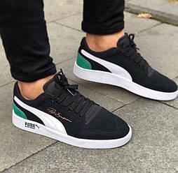 Мужские  кроссовки в стиле Puma shock wedge ,  Вьетнам 40-44 замш