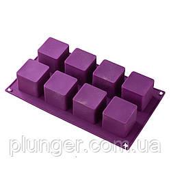 Форма силіконова для випічки 8 кубиків