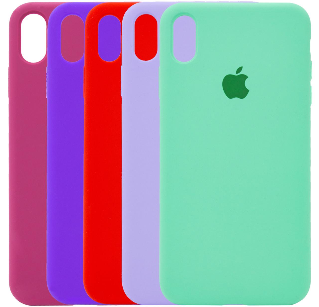 Чехол-накладка Original Silicone case Full Protective для IPhone Xr #1