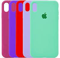 Чехол-накладка Original Silicone case Full Protective для IPhone Xr #1, фото 1