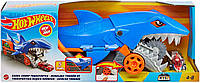 Автовоз транспортер Hot Wheels Акулья пасть грузовик Хот вилс Акула машинка Shark Chomp Transporter GVG36