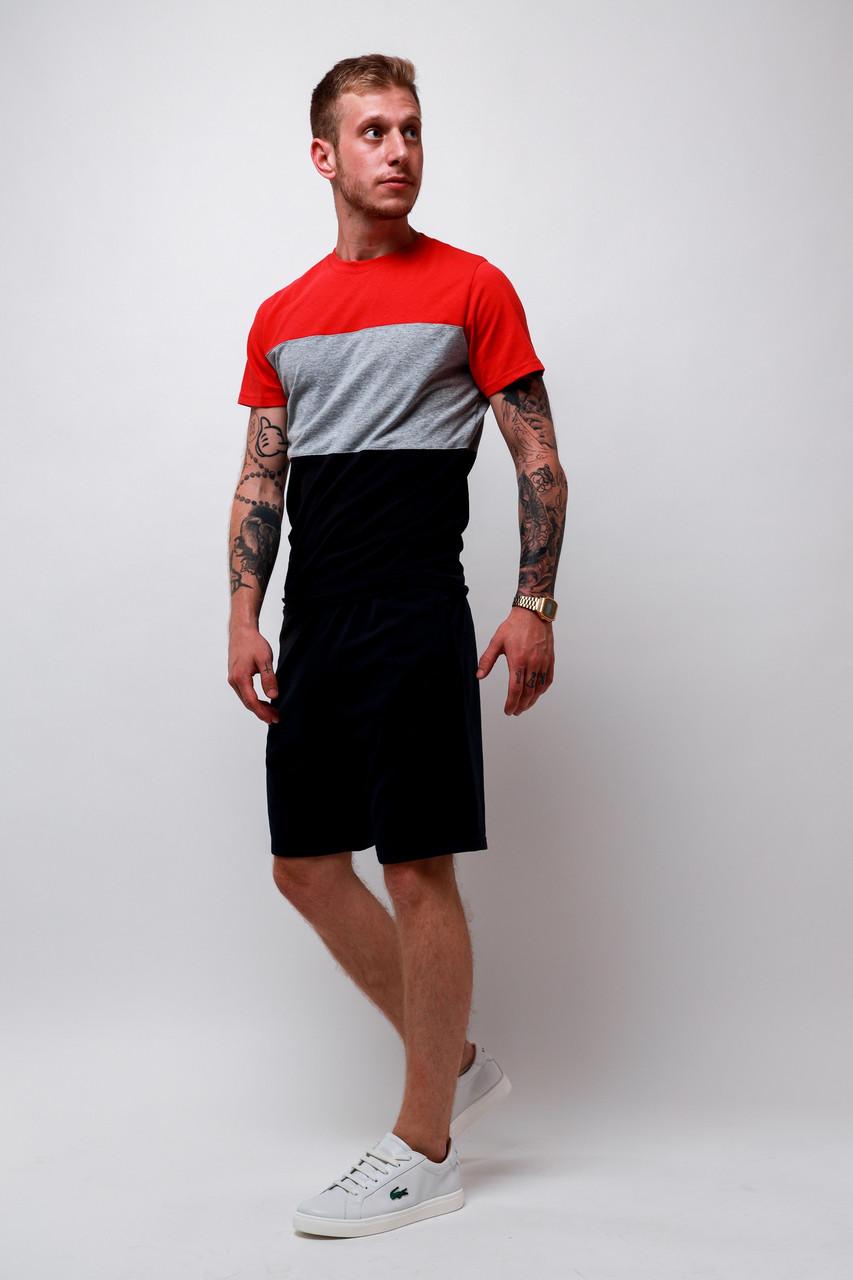 ✅ Чоловіча футболка і шорти комплект | Чоловіча футболка та шорти комплект