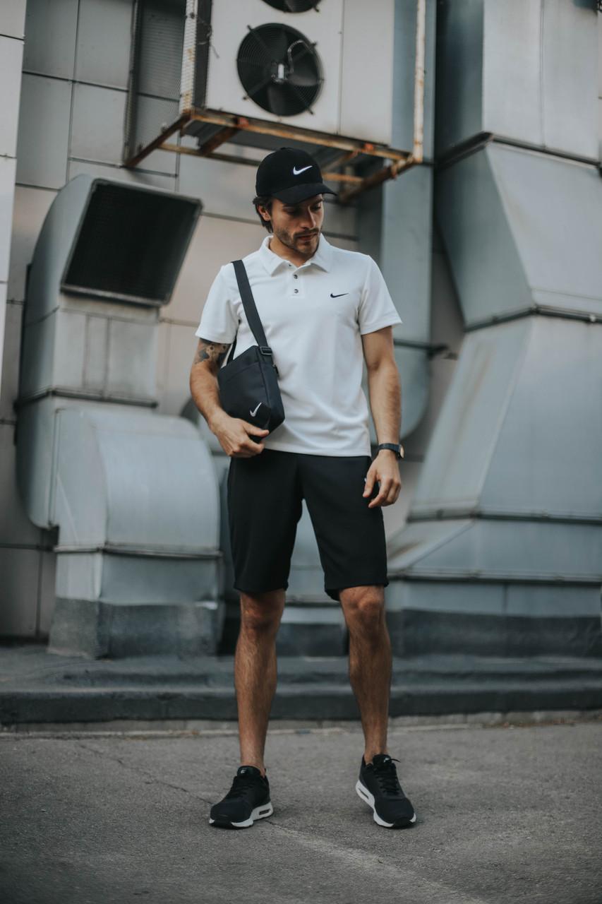 Чоловічий річний Комплект футболка і шорти Nike (репліка)