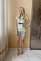 Пижама женская Good Morning футболка и шорты