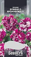Петуния Бахромчатый крупноцветковая низкорослая Поздравления с Яромнержа F1, 10 шт
