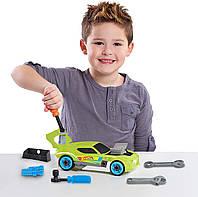 Игровой набор Хот вилс машина с инструментами 29 деталей Hot Wheels Ready to Race Car Builder 37006