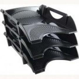 Лоток для бумаги горизонтальный пластик KOH-I-NOOR Универсал 75414*_Черный