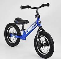 """Велобіг від """"CORSO"""" сталева рама, колесо 12"""" піна"""