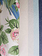 Обои флизелиновые экологически чистые York Modern Heritage 125th Anniversary цветы розы розовые на бежевом, фото 1