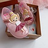 Туфельки на девочку Мини Мелисса Mini Melissa Балеринка Розовый, фото 4