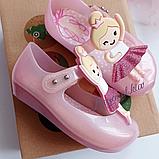 Туфельки на девочку Мини Мелисса Mini Melissa Балеринка Розовый, фото 2