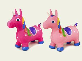 Дитячий Стрибун конячка єдиноріг надувний, різні кольори