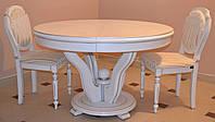 Деревянный раскладной стол в гостинную Эдельвейс