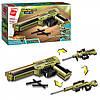 Конструктор Qman 4802  пистолет, 3в1, 202 дет, в кор-ке, 31,5-19-5см