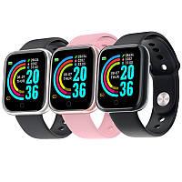 Смарт-часы Smart Watch Y68 шагомер подсчет калорий цветной экран