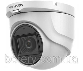 2MP Камера TVI / AHD / CVI / CVBS з вбудованим мікрофоном Hikvision DS-2CE76D0T-ITMFS