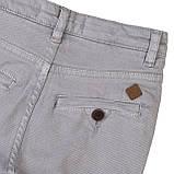 Детские серые брюки чинос для мальчиков 3-8 лет, 98-104 см, фото 3