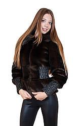 Куртка хутряна Ш 27 (42/темно-коричневий)
