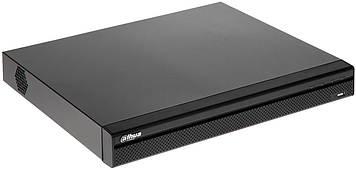 16-канальний PoE відеореєстратор з підтримкою 2х HDD в металевому корпусі DH-NVR4216-16P-4KS2