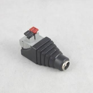 Роз'єм для підключення живлення DC-F (D 5,5x2,1мм) із клемами под ручний зажим под кабель
