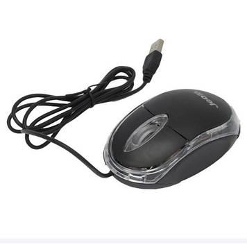 Мишка комп'ютерна провідна JEDEL TB220 / KB121, Black