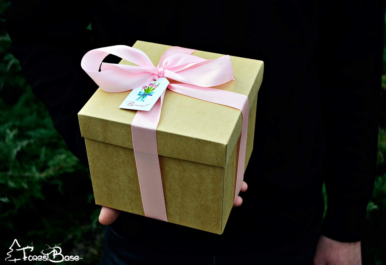 Подарунковий набір варення: з соснових шишок, калини, волоських горіхів