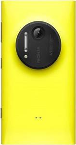 Оригинальная Задняя Панель Корпуса (Крышка) для Nokia 1020 Lumia (Желтая)
