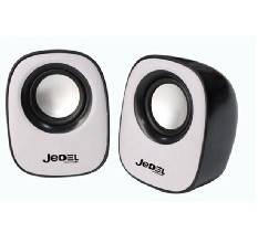 Колонки 2.0 JEDEL JD-M600 USB + 3.5mm, 2x3W, 90Hz- 20KHz, з регулятором гучності, Black / Blue, BOX, Q50