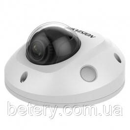 4МП камера міні-купольна з SD картою Hikvision DS-2CD2543G0-IS (2,8 мм)