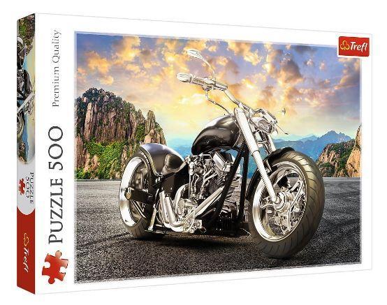 Пазли Чорний мотоцикл 500 ел.