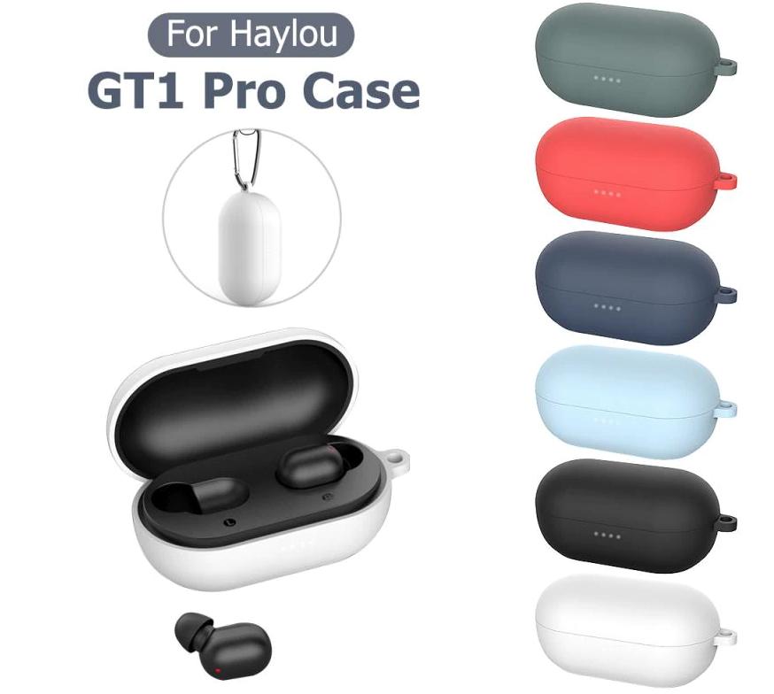 Силиконовый чехол CASP для Haylou GT1 Pro / GT1 XR