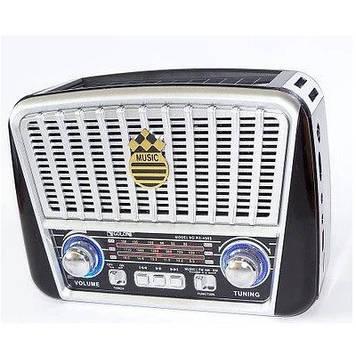 Радіоприймач GOLON RX-456, LED, 3W, FM радіо, Входь microSD, USB, AUX, корпус пластмас, Black/White, BOX