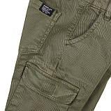 Детские и подростковые штаны карго для мальчиков 3-13 лет 98-104 см, фото 3