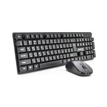 Комплект бездротової (KB + Mouse + Радіо) WS630 Black, (Eng / Pyc), 2.4 G, USB-нано, Box