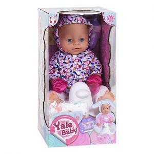 "Пупс ""Yale baby"" в курточке YL1823K"