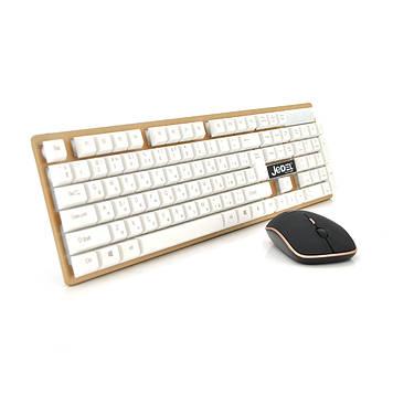 Комплект бездротової (KB + Mouse) WS7000 , (Eng / Pyc), 2.4 G, Box