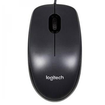 Мишка комп'ютерна провідна Logitech M90, Black, Box