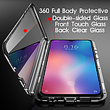 Магнитный металл чехол FULL GLASS 360° для Xiaomi Poco M2 /, фото 5