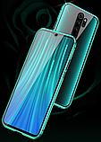Магнитный металл чехол FULL GLASS 360° для Xiaomi Poco M2 /, фото 6