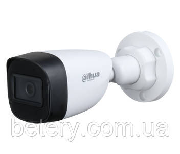 2 Мп HDCVI / CVBS Dahua вулична відеокамера DH-HAC-HFW1200CP (2.8 ММ)