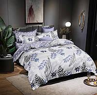 Полуторный постельный комплект с компаньоном 150х220 Сатин Люкс (16352), фото 1