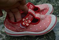 Туфлі дитячі, літнє взуття для дівчинки б/у 15,5 см стелька