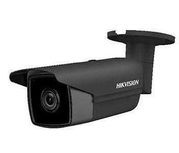 4МП камера циліндрична чорного кольору з SD картою Hikvision DS-2CD2T43G0-I8 BLACK (2.8 ММ)