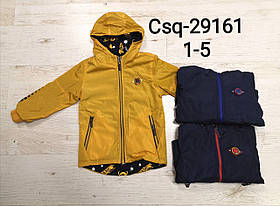 Куртка двухсторонняя  для мальчиков оптом, Seagull, 1-5 лет, арт. CSQ-29161