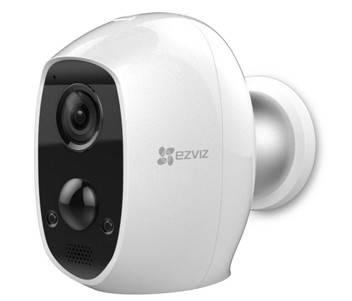 2МП Wi-Fi камера EZVIZ з вбудованим акумулятори CS-C3A (B0-1C2WPMFBR)